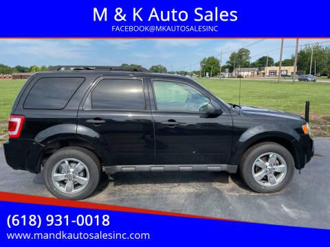 2011 Ford Escape for sale at M & K Auto Sales in Granite City IL