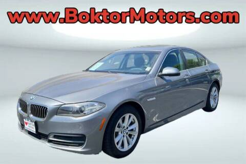 2014 BMW 5 Series for sale at Boktor Motors in North Hollywood CA