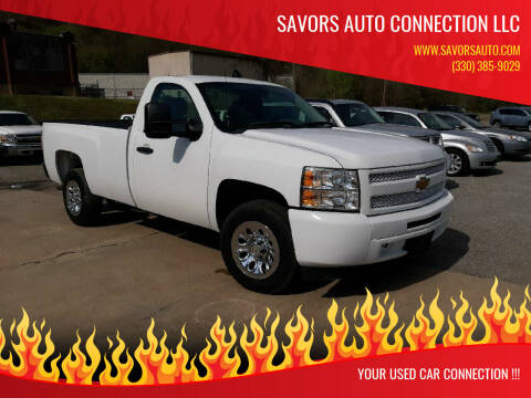 2013 Chevrolet Silverado 1500 for sale at SAVORS AUTO CONNECTION LLC in East Liverpool OH