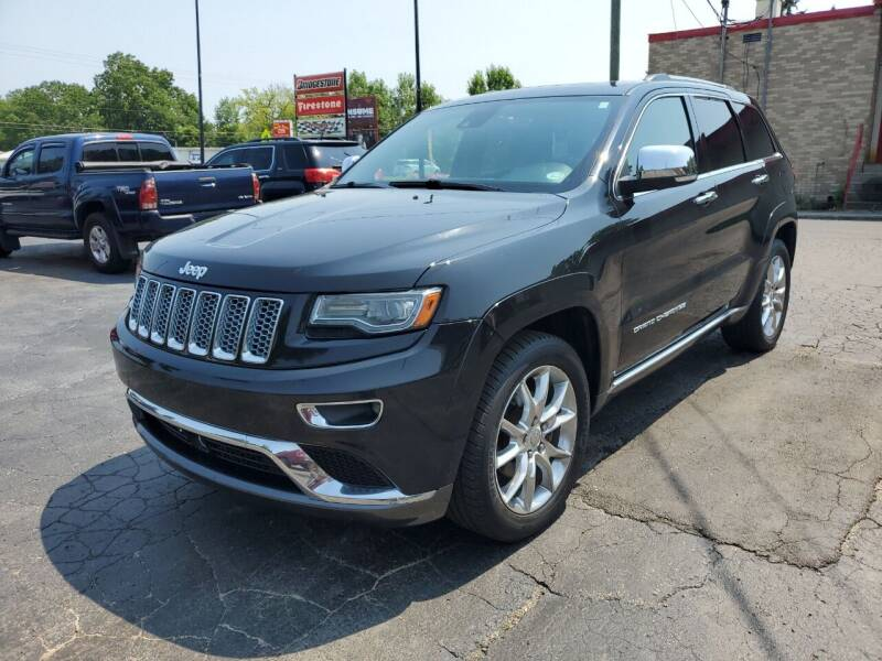 2014 Jeep Grand Cherokee for sale at Drive Motor Sales in Ionia MI