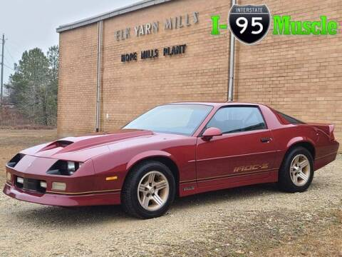 1990 Chevrolet Camaro for sale at I-95 Muscle in Hope Mills NC