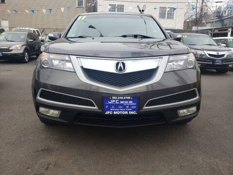 2011 Acura MDX for sale at JFC Motors Inc. in Newark NJ