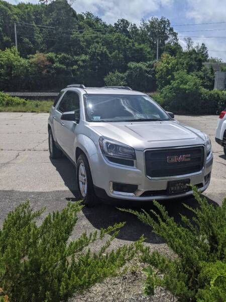 2015 GMC Acadia for sale at WEB NIK Motors in Fitchburg MA