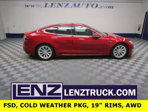 2019 Tesla Model S for sale at LENZ TRUCK CENTER in Fond Du Lac WI