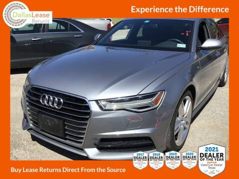 2017 Audi A6 for sale at Dallas Auto Finance in Dallas TX