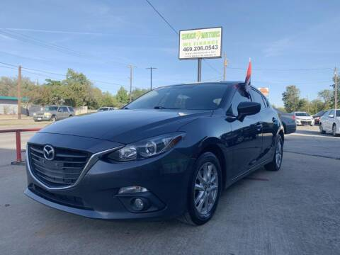 2016 Mazda MAZDA3 for sale at Shock Motors in Garland TX