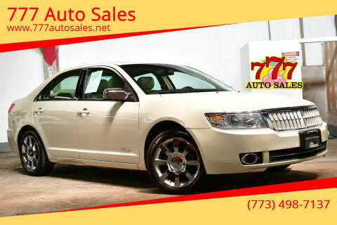 2007 Lincoln MKZ for sale at 777 Auto Sales in Bedford Park IL