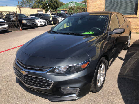 2017 Chevrolet Malibu for sale at Auto Access in Irving TX