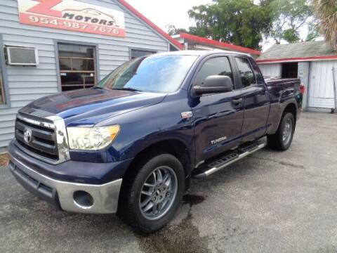 2012 Toyota Tundra for sale at Z Motors in North Lauderdale FL