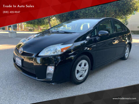 2011 Toyota Prius for sale at Trade In Auto Sales in Van Nuys CA