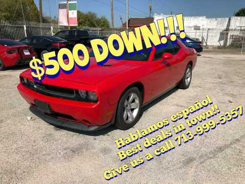 2014 Dodge Challenger for sale at Saipan Auto Sales in Houston TX