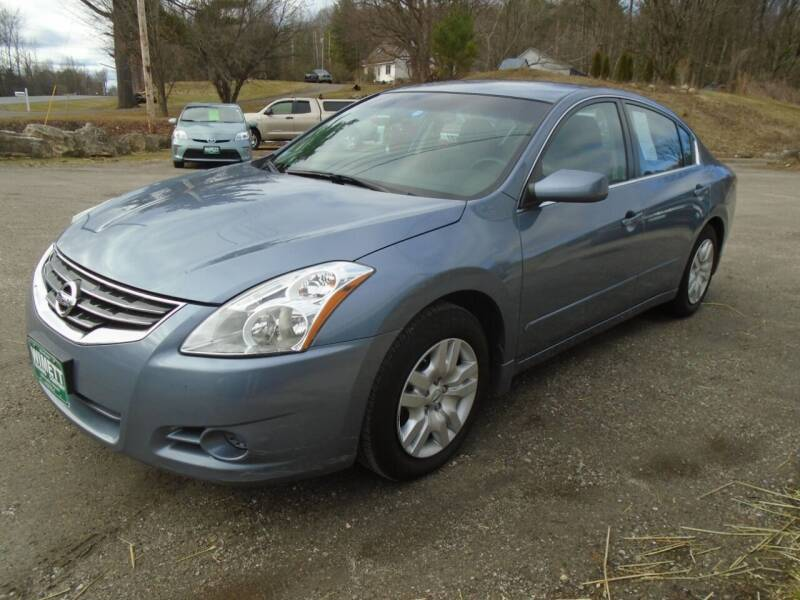 2012 Nissan Altima for sale at Wimett Trading Company in Leicester VT