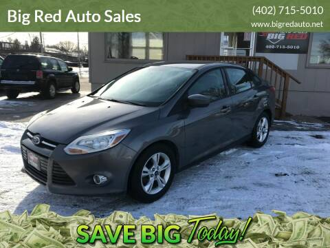 2012 Ford Focus for sale at Big Red Auto Sales in Papillion NE