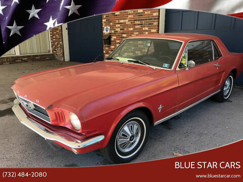1966 Ford Mustang for sale at Blue Star Cars in Jamesburg NJ