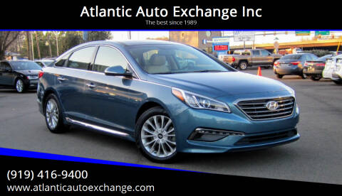 2015 Hyundai Sonata for sale at Atlantic Auto Exchange Inc in Durham NC