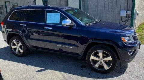 2014 Jeep Grand Cherokee for sale at Past & Present MotorCar in Waterbury Center	 VT