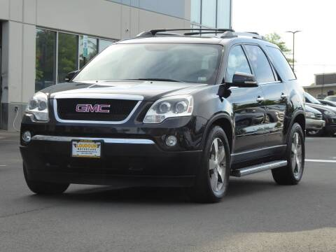 2012 GMC Acadia for sale at Loudoun Used Cars - LOUDOUN MOTOR CARS in Chantilly VA