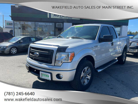 2014 Ford F-150 for sale at Wakefield Auto Sales of Main Street Inc. in Wakefield MA