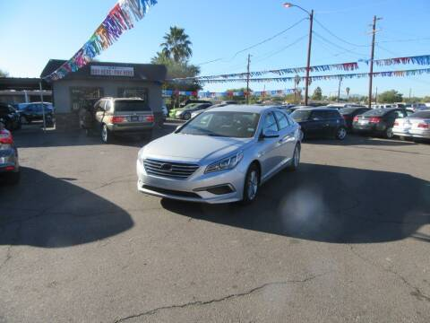2016 Hyundai Sonata for sale at Valley Auto Center in Phoenix AZ