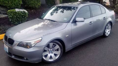 2004 BMW 5 Series for sale at SS MOTORS LLC in Edmonds WA