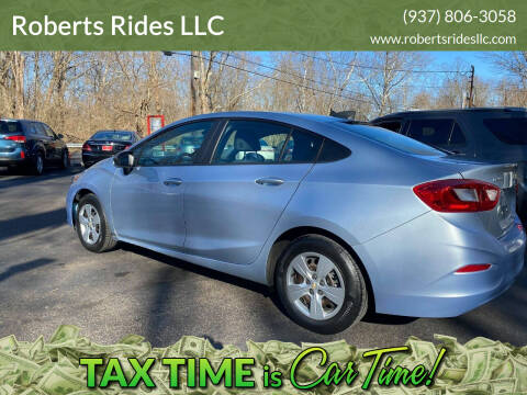 2017 Chevrolet Cruze for sale at Roberts Rides LLC in Franklin OH