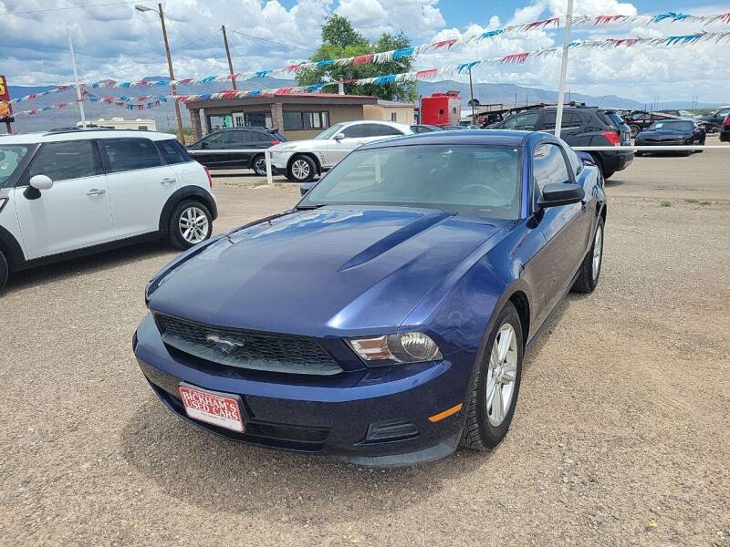 2012 Ford Mustang for sale at Bickham Used Cars in Alamogordo NM