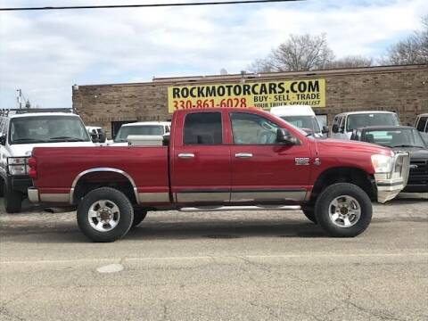 2007 Dodge Ram Pickup 2500 for sale at ROCK MOTORCARS LLC in Boston Heights OH