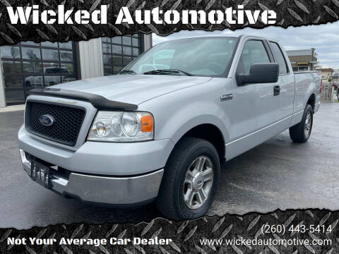 2005 Ford F-150 for sale at Wicked Automotive in Fort Wayne IN