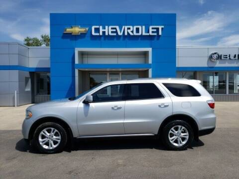 2011 Dodge Durango for sale at Finley Motors in Finley ND