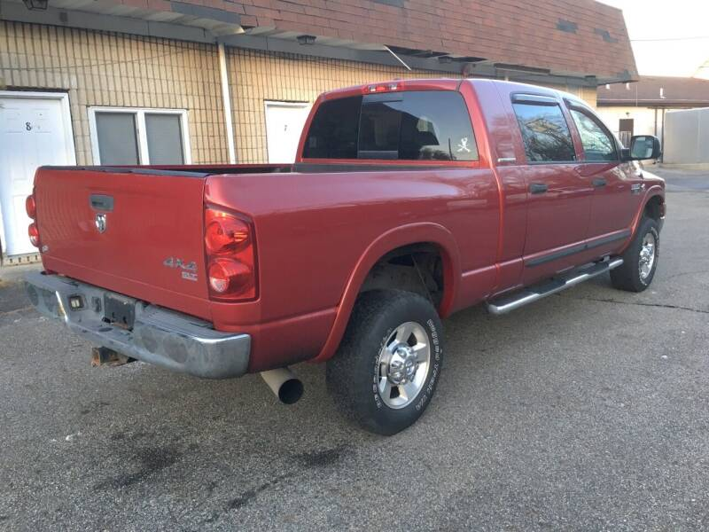 2007 Dodge Ram Pickup 2500 4x4 SLT 4dr Mega Cab 6.3 ft. SB Pickup - Newfoundland NJ