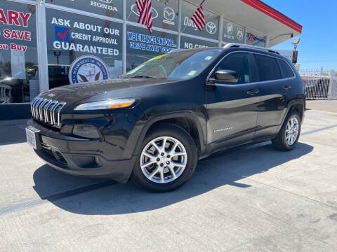 2014 Jeep Cherokee for sale at VR Automobiles in National City CA