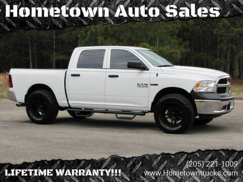 2018 RAM Ram Pickup 1500 for sale at Hometown Auto Sales - Trucks in Jasper AL