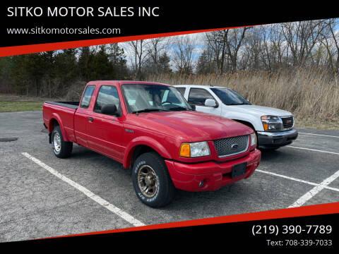 2003 Ford Ranger for sale at SITKO MOTOR SALES INC in Cedar Lake IN