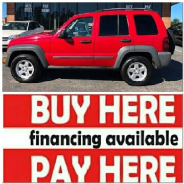 2005 Jeep Liberty for sale at BP Auto Finders in Durham NC