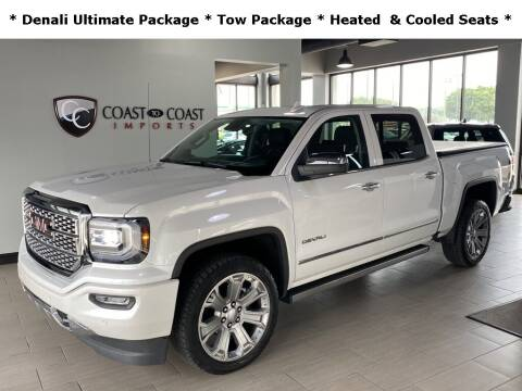2018 GMC Sierra 1500 for sale at Coast to Coast Imports in Fishers IN