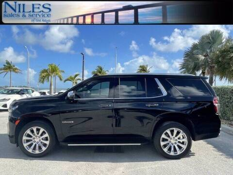 2021 Chevrolet Tahoe for sale at Niles Sales and Service in Key West FL
