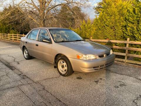 2000 Toyota Corolla for sale at Front Porch Motors Inc. in Conyers GA