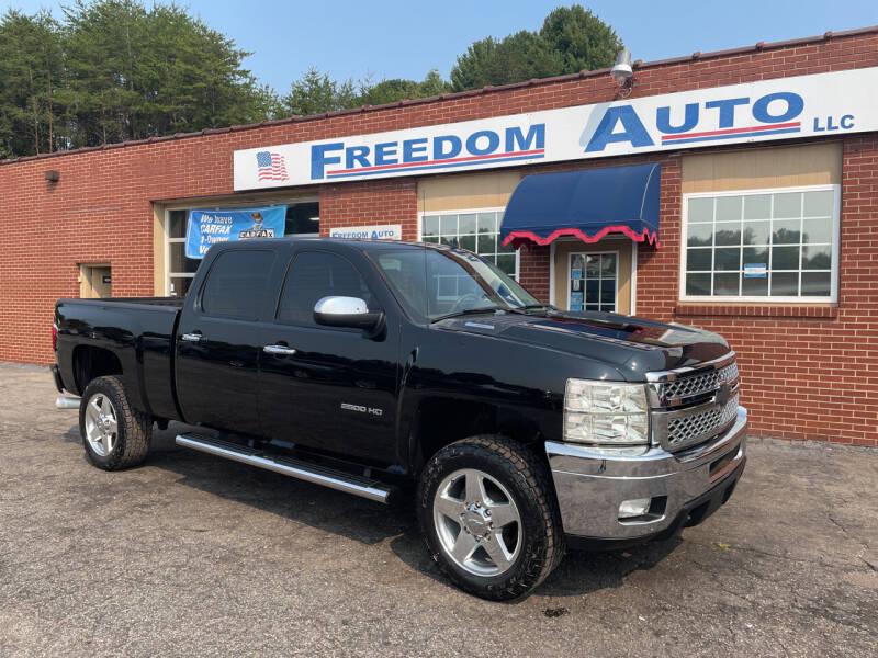 2011 Chevrolet Silverado 2500HD for sale at FREEDOM AUTO LLC in Wilkesboro NC