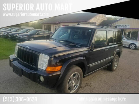 2006 Jeep Commander for sale at SUPERIOR AUTO MART in Amelia OH
