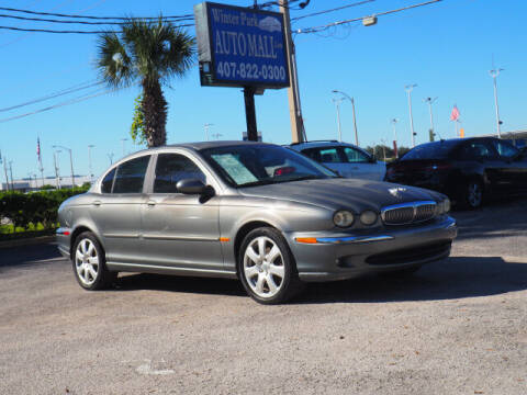 2005 Jaguar X-Type for sale at Winter Park Auto Mall in Orlando FL