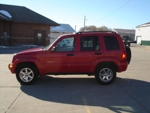 2003 Jeep Liberty for sale at Quality Auto Sales in Wayne NE
