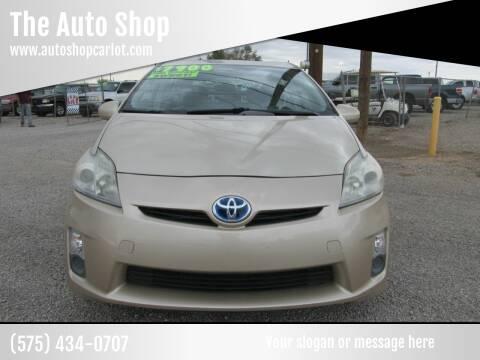2010 Toyota Prius for sale at The Auto Shop in Alamogordo NM