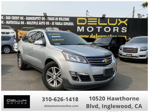 2015 Chevrolet Traverse for sale at Delux Motors in Inglewood CA