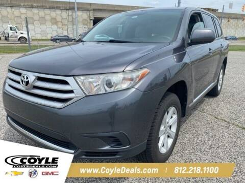 2012 Toyota Highlander for sale at COYLE GM - COYLE NISSAN - New Inventory in Clarksville IN
