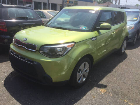 2016 Kia Soul for sale at UNION AUTO SALES in Vauxhall NJ