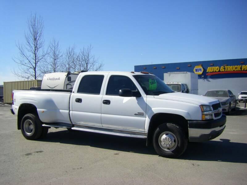 2004 Chevrolet Silverado 3500 for sale at NORTHWEST AUTO SALES LLC in Anchorage AK