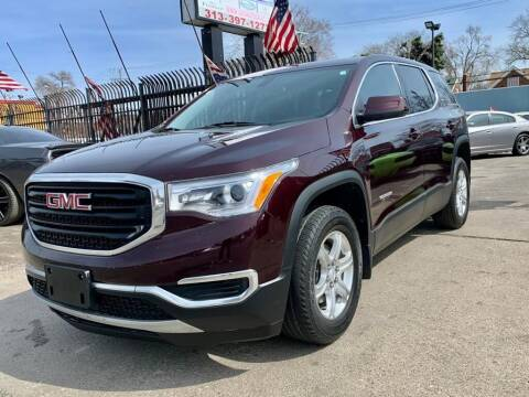 2018 GMC Acadia for sale at Gus's Used Auto Sales in Detroit MI