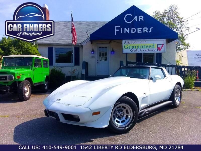 1979 Chevrolet Corvette for sale in Eldersburg, MD