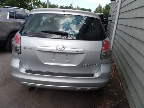 2008 Toyota Matrix for sale at CAR CORNER RETAIL SALES in Manchester CT
