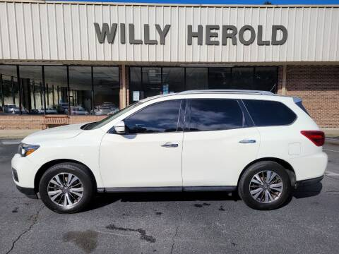 2017 Nissan Pathfinder for sale at Willy Herold Automotive in Columbus GA
